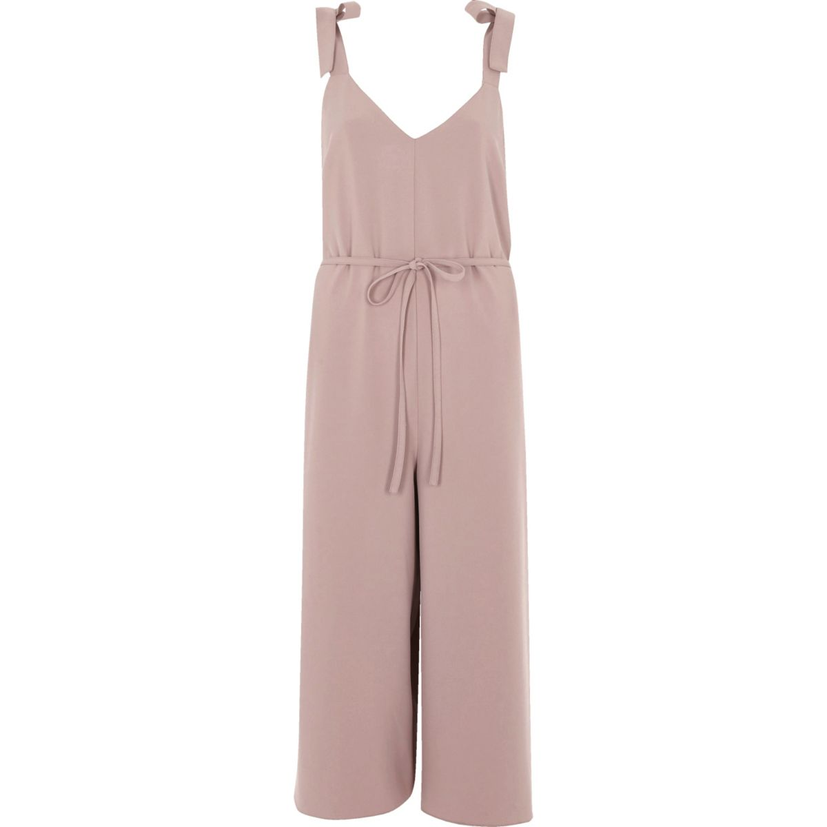 Combinaison jupe-culotte rose blush