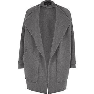 Grey fallaway jacket