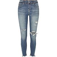 Blue wash super skinny Amelie jeans