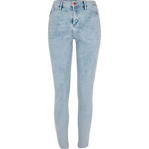 Light blue wash Molly jegging