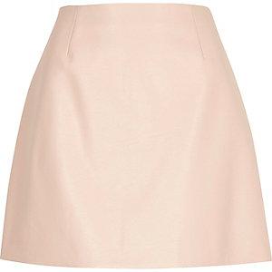 Mini-jupe rose clair