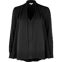 Black 2 In 1 blouse