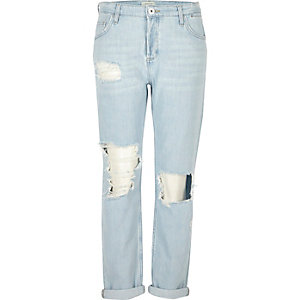 Light blue wash Ashley boyfriend jeans
