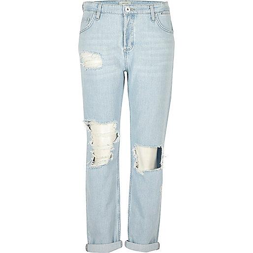 Light blue wash Ashley boyfriend jeans