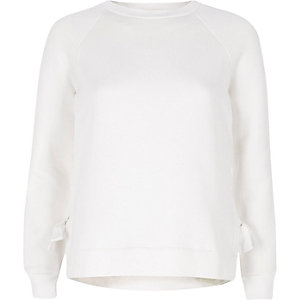 Sweatshirt in Creme