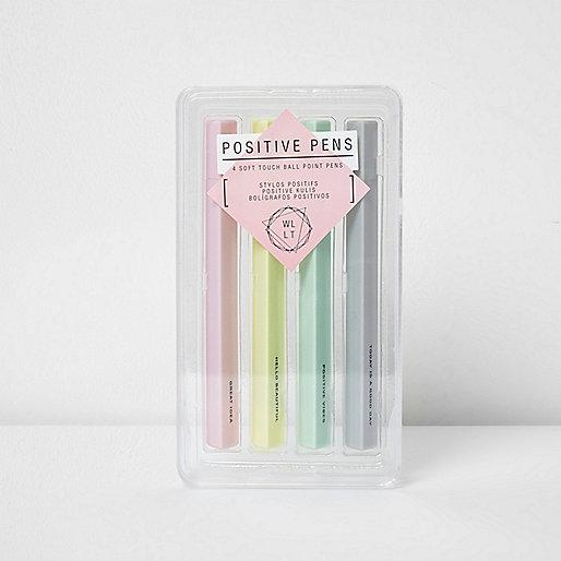 Positive pens multipack