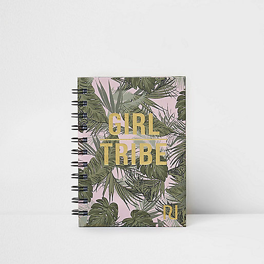 Gold A6 'girl tribe' notebook