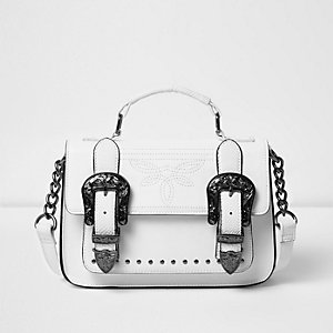 White western style mini satchel bag