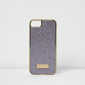 Purple glitter iPhone 6/7 case