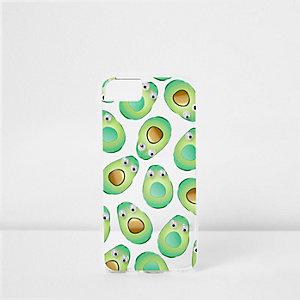 Étui vert avocat pour iPhone