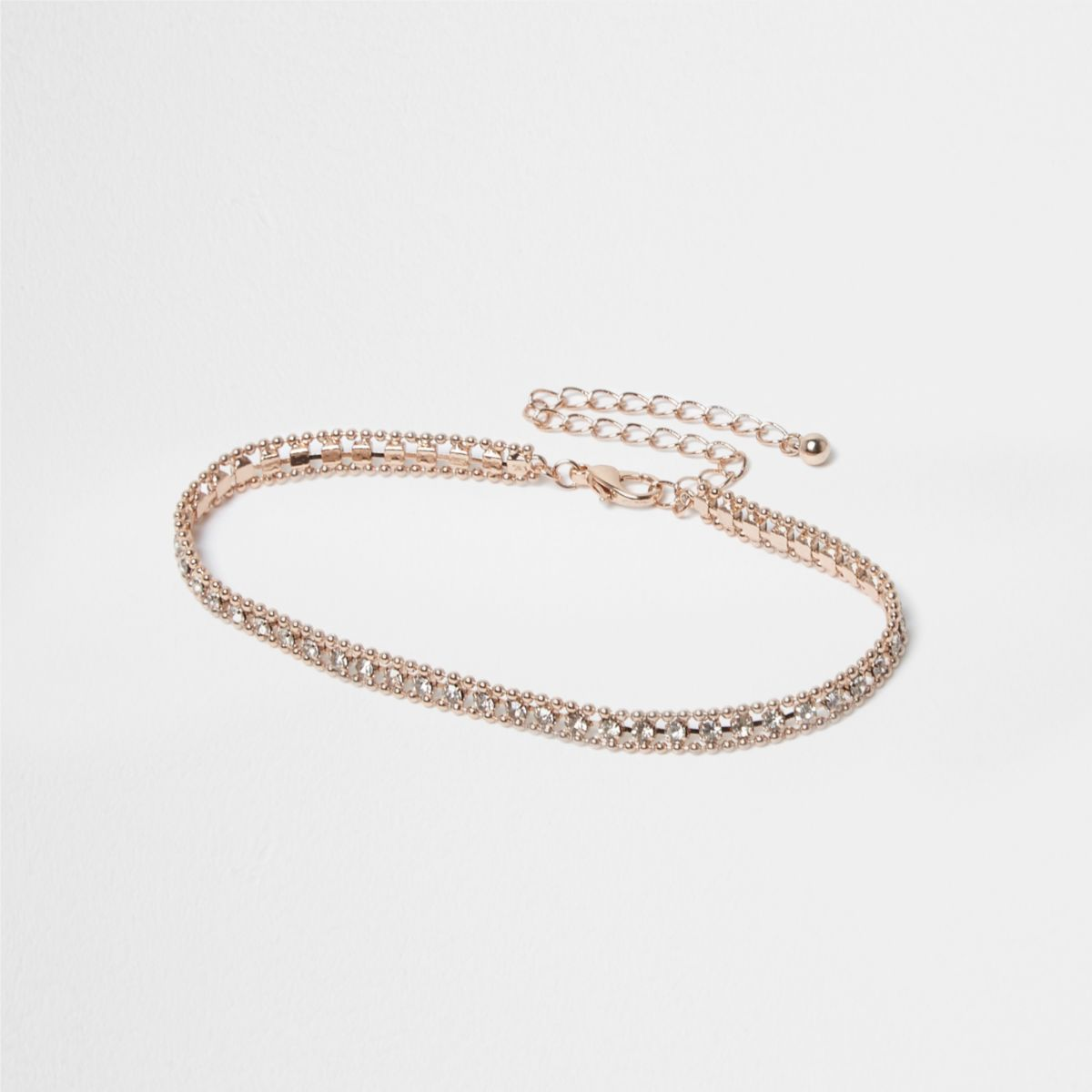 cross ankle anklet crystal olizz rose gold bracelet