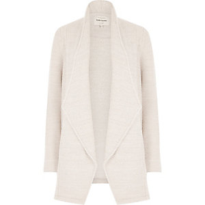 Light beige jersey jacket