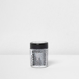 Silver glitter shaker make-up pot 5g