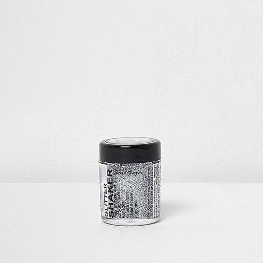 Silver glitter shaker make-up pot 5g