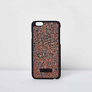 Skinny Dip gold glitter iPhone 6 case