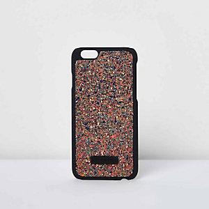 Skinny Dip gold glitter iPhone 6 case