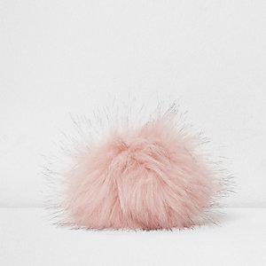 Roze pompon