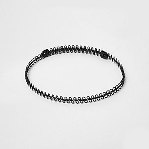 Black 90s wire choker