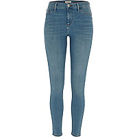 Blue Molly green cast jeggings