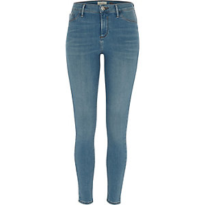 Molly – Blaue Jeggings
