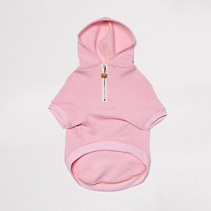 RI Dog pink hoodie