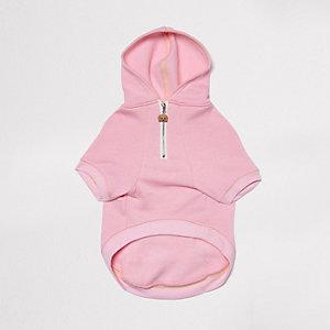 RI Dog roze hoodie