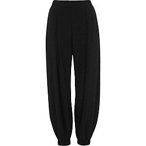 Black harem trousers