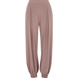 Light purple harem pants