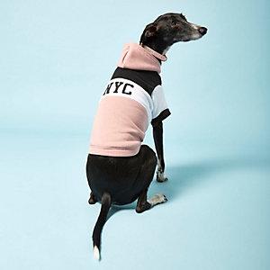 Pink RI Dog 'NYC' hoodie