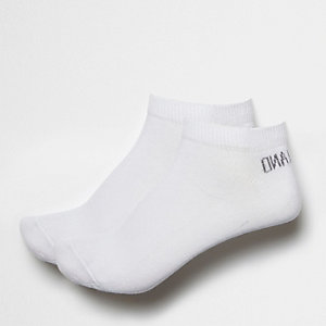 White sneaker socks pack
