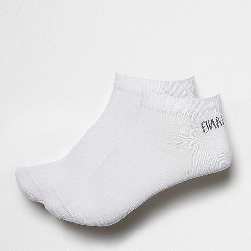 White sneaker socks pack