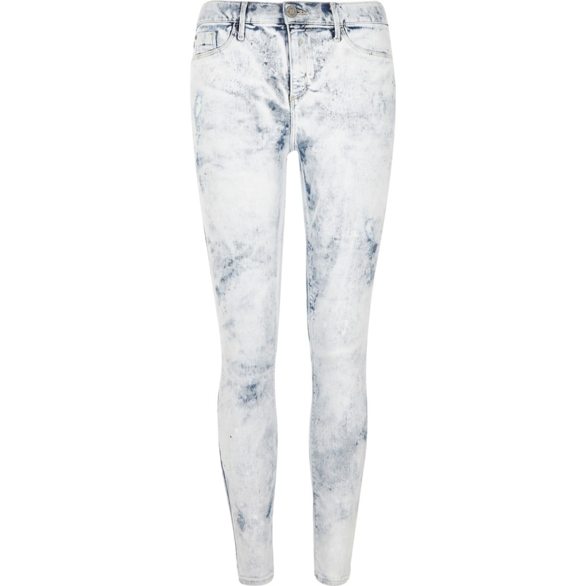 River Island Molly Jeggings White