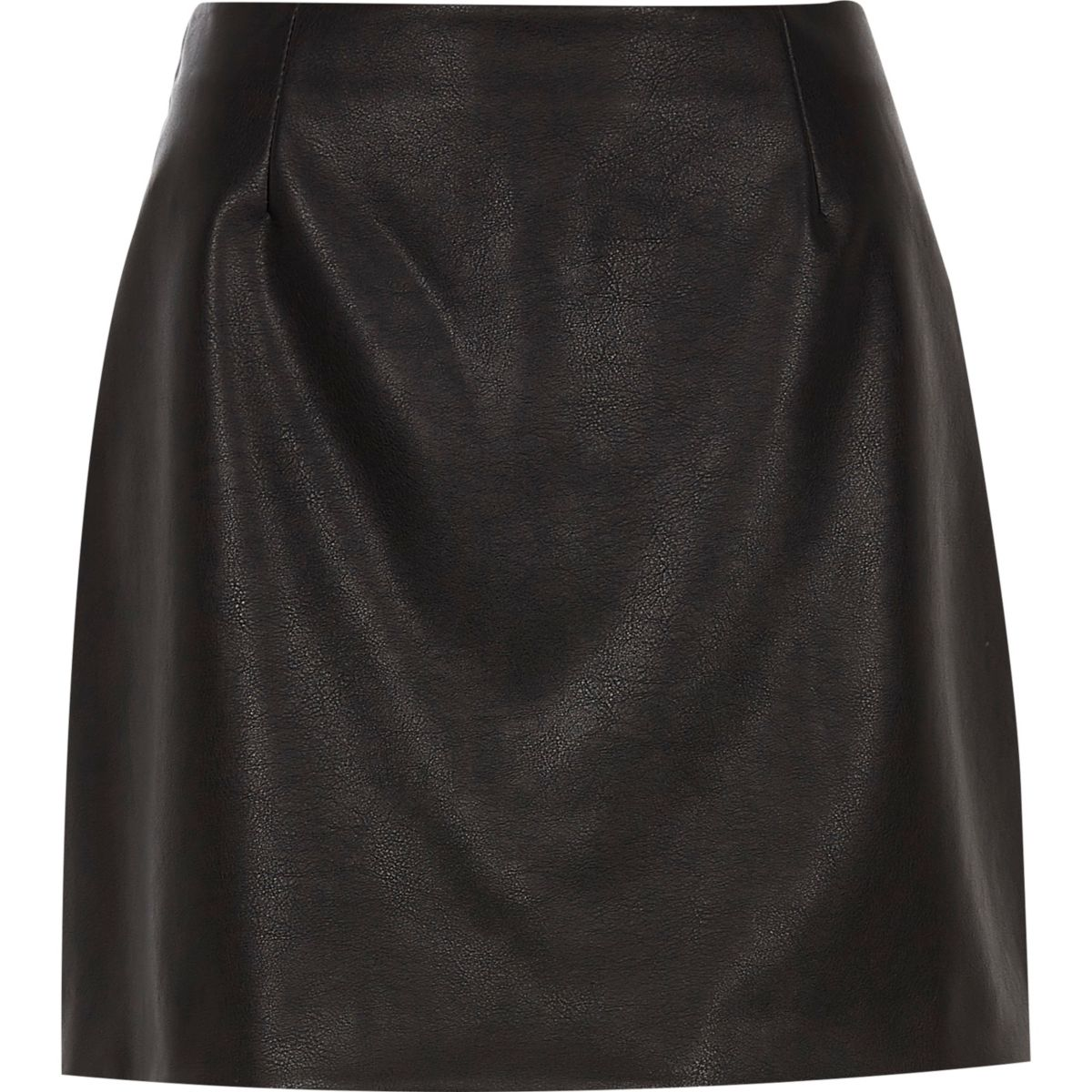 A ruffle trim adds movement to a flirty hi-lo skirt that's made from lightweight challis. Challis fabric Partially elasticized waist Pull-on style Hi-lo hem Ruffle trim Faux wrap design Unlined CONTENT + CARE Rayon Wash cold; line dry Imported plus size skirt SIZE + FIT Model is 5'8