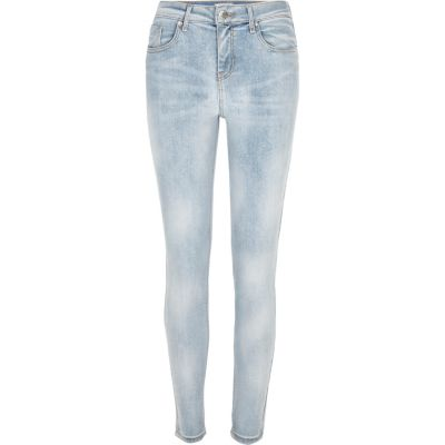 Amelie Lichtblauwe superskinny jeans