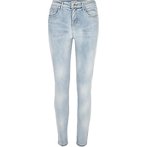 Light blue Amelie super skinny jeans