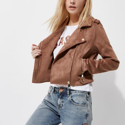 Manteau femme rose poudre