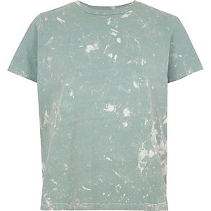 Light blue wave wash T-shirt