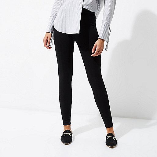 Leggings noirs en jersey