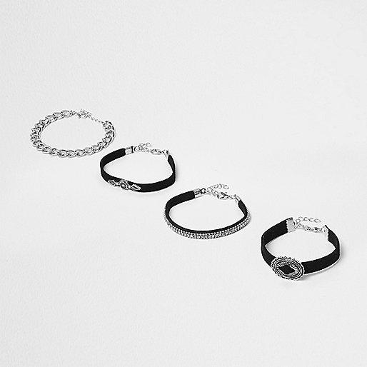 Black western bracelet pack