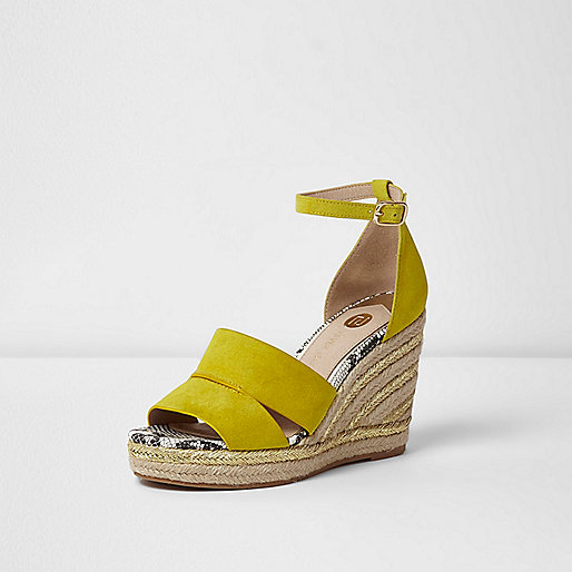 Espadrille wedges - River Island