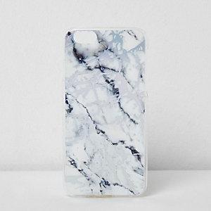Coque Skinny Dip effet marbré blanche pour iPhone 6