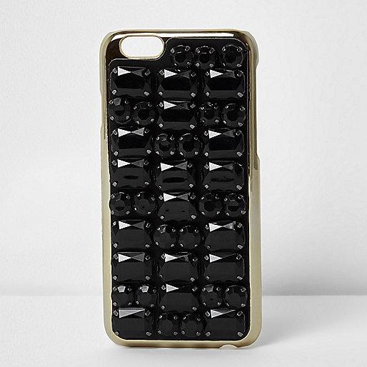 Skinny Dip black jewel iPhone 7 case
