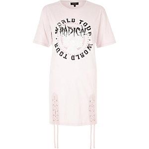"""PInkes T-Shirt mit """"Radical""""-Print"""