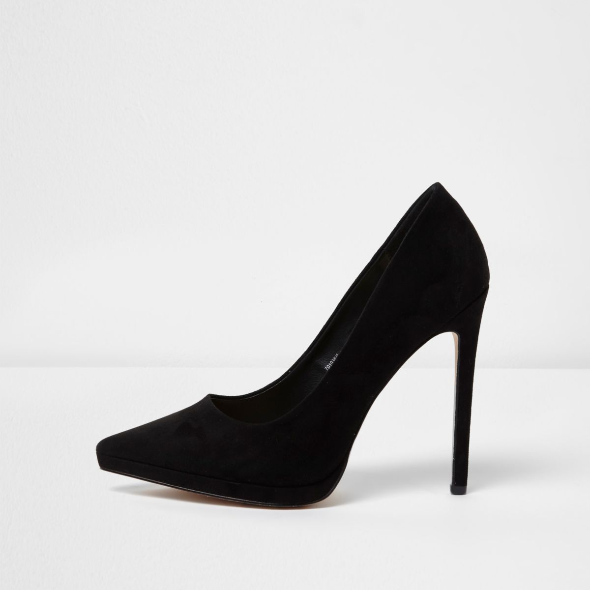 Black platform court shoes - Workwear - Sale - women