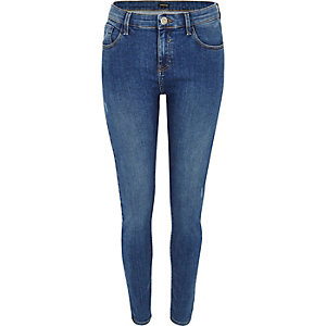 Amelie – Jean super skinny authentic blue moyen