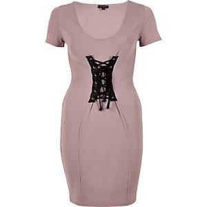 Pinkes Bodycon-Kleid