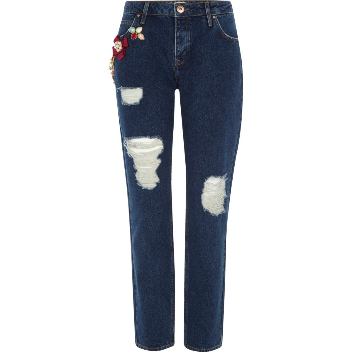 boyfriend jeans im used look jeans sale damen. Black Bedroom Furniture Sets. Home Design Ideas