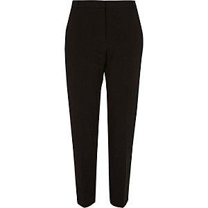 Pantalon fuselé noir habillé