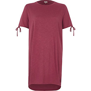 Pinkes Oversized T-Shirt
