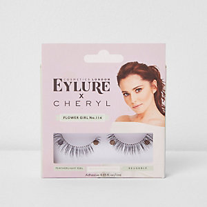 Cheryl x Eyelure Flower Girl false eyelashes